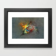 Fractal Art Beauty Framed Art Print
