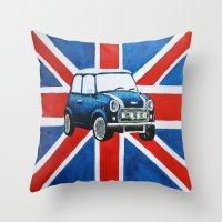 GB Mini Throw Pillow