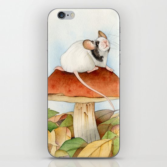 Mouse & Beaver iPhone & iPod Skin