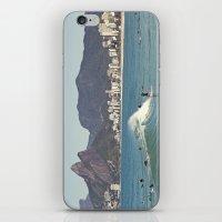 Surfing on Ipanema Beach iPhone & iPod Skin