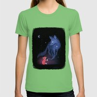 Celestial Womens Fitted Tee Grass SMALL