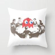 Medium Difficulty Throw Pillow