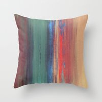 Untitled Digital Abstrac… Throw Pillow
