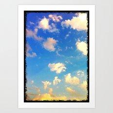 Georgia sunset Art Print