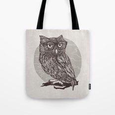 Nerd Owl Tote Bag