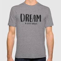 Dream Mens Fitted Tee Athletic Grey SMALL