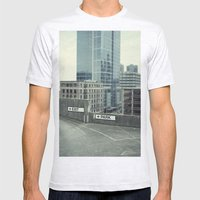 Exit Mens Fitted Tee Ash Grey SMALL