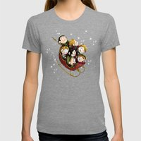 Little Hiddles Christmas… Womens Fitted Tee Tri-Grey SMALL