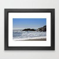 Cornishseascapes Gunwall… Framed Art Print