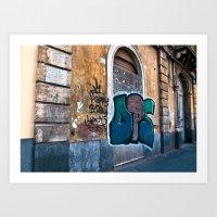 SICILIAN FACADE In CATAN… Art Print