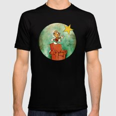 The Natural Philosopher  SMALL Black Mens Fitted Tee