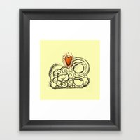 Love Is In The Air - 3 Framed Art Print