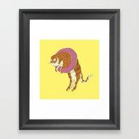 Phat Tigre Framed Art Print