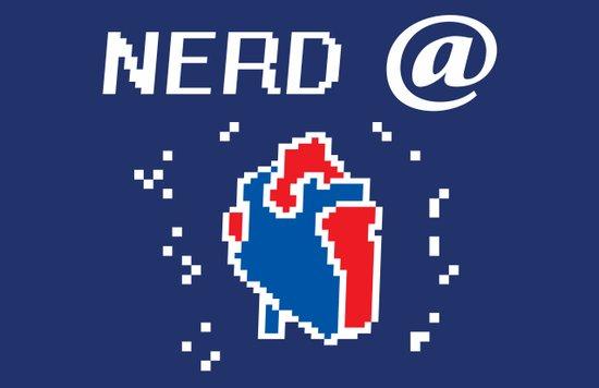 Nerd @ Heart Art Print