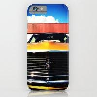 Orange Mustang  iPhone 6 Slim Case