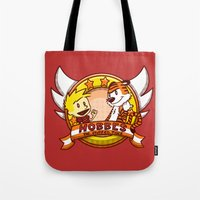 Calvin and Hobbes: Hobbes The Stuffed Tiger Tote Bag