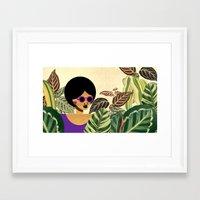 Bayou Girl IV Framed Art Print