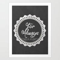 Adoption Is For Always Art Print