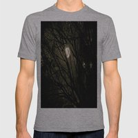 It's a full moon, so what? Mens Fitted Tee Athletic Grey SMALL