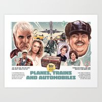 Planes, Trains & Automobiles Art Print