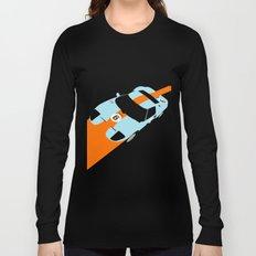Orange Notch - Ford GT40 Race Car Long Sleeve T-shirt