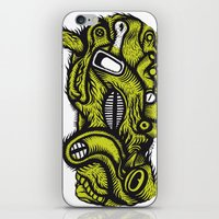 Irradié - the print iPhone & iPod Skin