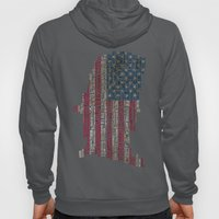 United States Flag Map W… Hoody