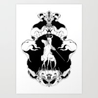 CICADA X Art Print