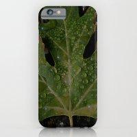 rainy leaf iPhone 6 Slim Case