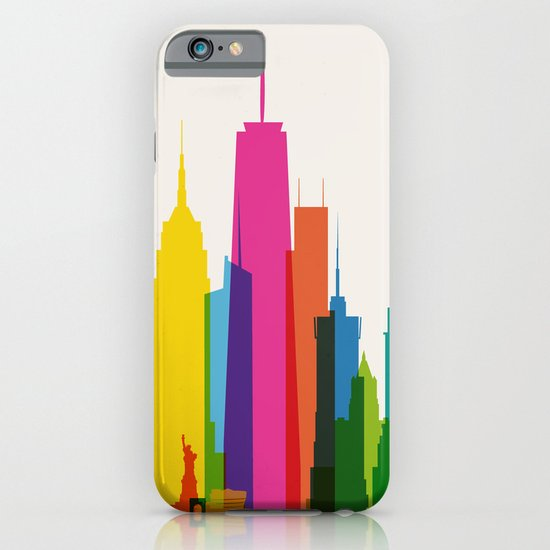 Shapes of NYC. Accurate to scale iPhone & iPod Case