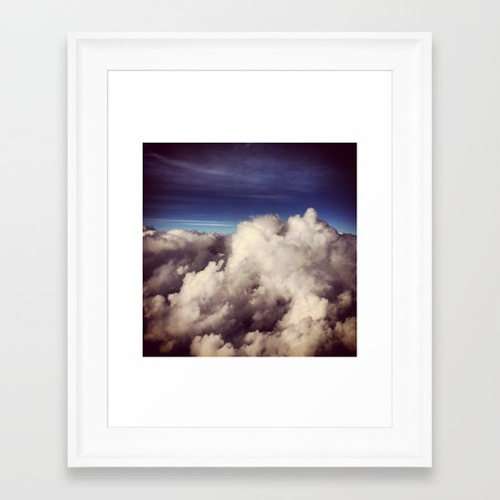 Clouds I Framed Art Print