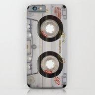 Cassette Transparent iPhone 6 Slim Case