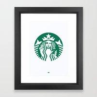 Selfie - 'Starbucks ICON… Framed Art Print