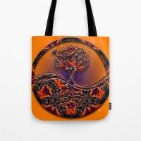 Tree Of Designs Tote Bag