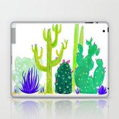 Watercolour Cactus & Bats Laptop & iPad Skin