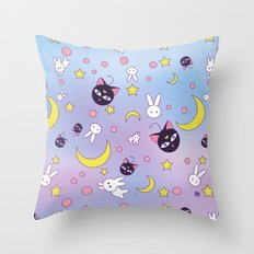 Chibiusa's Pattern Throw Pillow