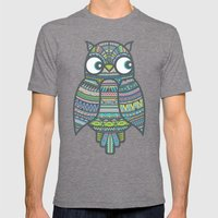 Whoo Me? Mens Fitted Tee Tri-Grey SMALL