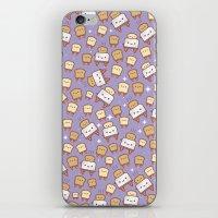 Space Toast iPhone & iPod Skin