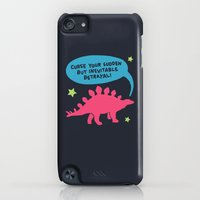 iPod Touch Cases featuring Curse your betrayal by LookHUMAN