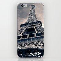 Towering Eiffel Tower iPhone & iPod Skin