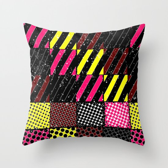 Crazier Pattern Throw Pillow