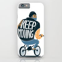 iPhone & iPod Case featuring Keep moving by SpazioC
