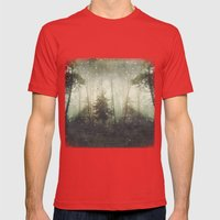 wonders and mysteries Mens Fitted Tee Red SMALL
