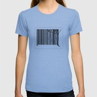 Treecode Womens Fitted Tee Athletic Blue SMALL