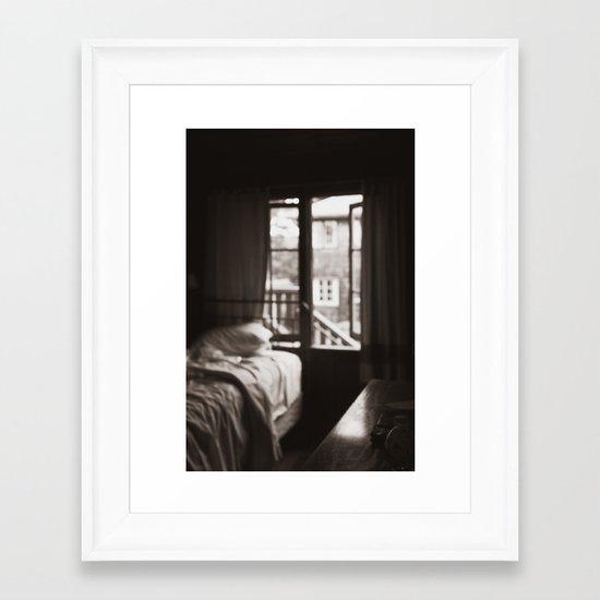 Final Goodbye Framed Art Print
