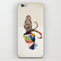 Walking Shadow, Monkey iPhone & iPod Skin