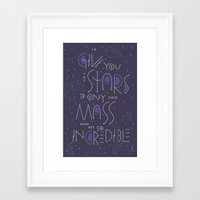 Haikuglyphics - Dear Someone Framed Art Print