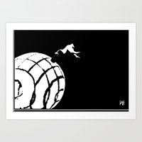 Stuck In a Hard Place | Conecpt Art Print
