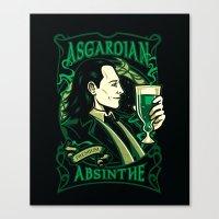 Asgardian Absinthe Canvas Print
