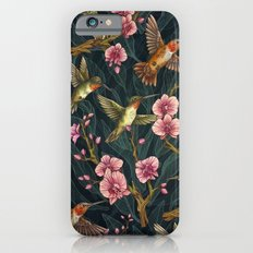 Hummingbird Pattern iPhone 6 Slim Case